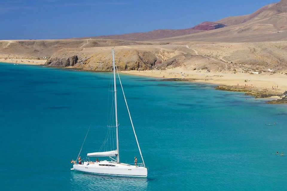 spain yacht charter sailing holiday destinations lanzarote