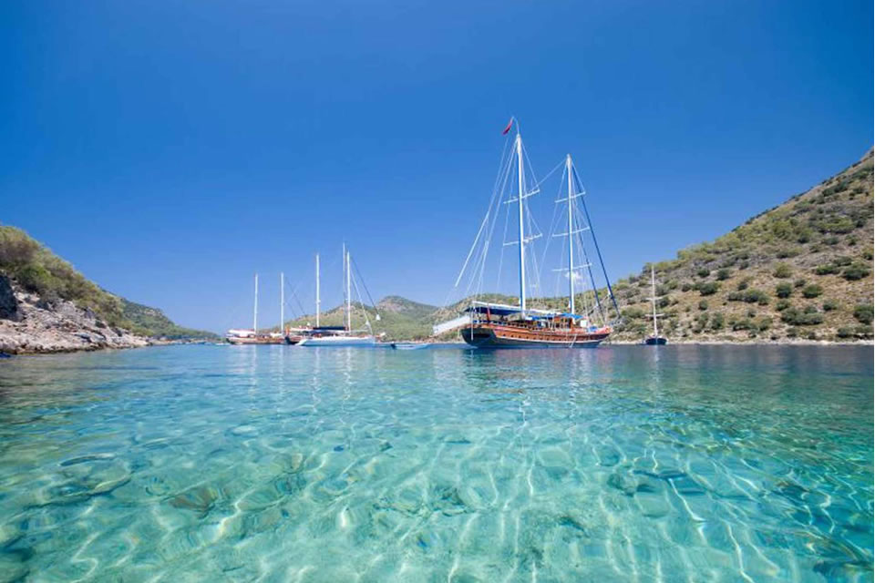 turkey yacht charter sailing holiday destinations 1