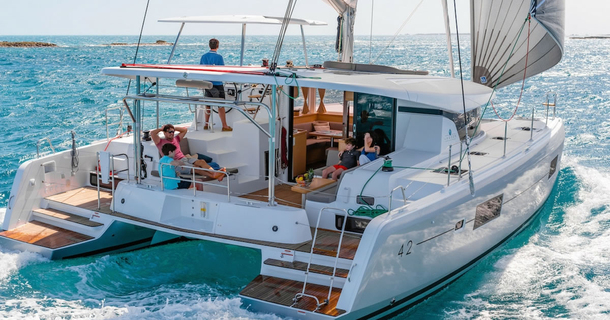 bali 4.1 for one way yacht charter in italy